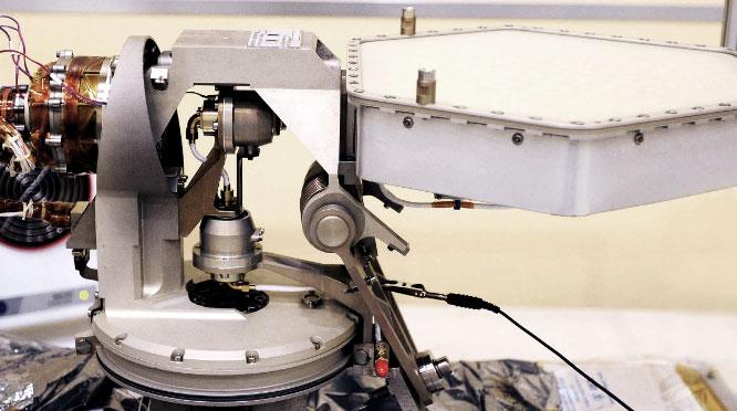 Schwingprüfung Curiosity Antenne