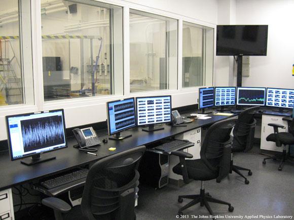 Johns Hopkins University APL vibration testing
